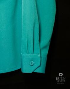 Camisa Femenina - Puño manga larga