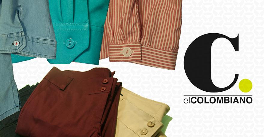 El Colombiano, medios, prensa, Buen Vestir, Buen Vestir Ltda, moda corporativa, dotación, uniformes, empresarial, administrativo, operarios